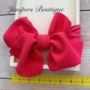 Other - Trendy Baby's Big Bow Headband